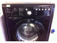 Indesit - BLACK , 7+5kg , EcoWash WASHER DRYER + 3 Months Guarantee + FREE LOCAL DELIVERY