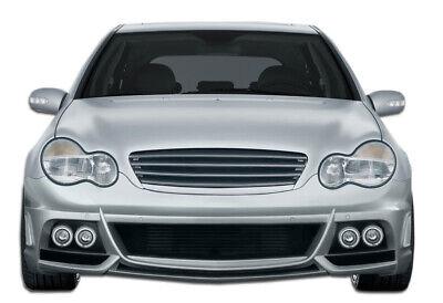 01-07 Mercedes C Class W-1 Duraflex Front Body Kit Bumper!!! 107134