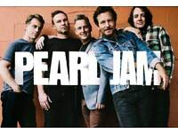 pearl jam tickets o2 arena 19/06/18