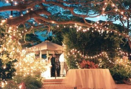 Jim Philp Garden Events and Wedding Wedding Lights