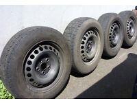 VW T5 Volkswagen Transporter T5 Wheels & Tyres 205/65R 16C