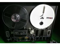 Akai 4000DS MkII Reel to reel tape recorder, Rare Black Version,Excellent condition, Tapes Included