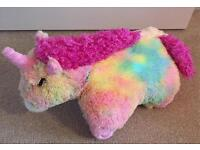 Unicorn Pink Light Up Pillow Pet