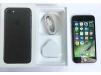 iPhone 7 BLACK 128GB UNLOCKED