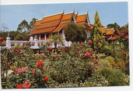 Postcard Palace of Thai King at Chiengmai For Sale