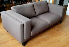IKEA NOCKEBY 2-seat sofa and Ottoman