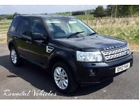 Immaculate 2012 Freelander 2 XS 2.2 diesel auto Blk half leather, history SUPERB DRIVER 12 mths mot