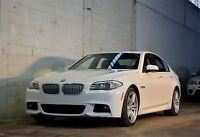 2011 BMW 550 RWD | TECHNOLOGY AND M SPORT PACKAGE | 1 OWNER