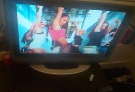 38 inch Bush DVB TV with DVD player