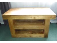 Solid Mango Small TV Cabinet