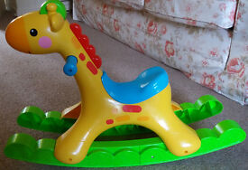 ROCKING HORSE-ELECTRIC, COLOURS, LIGHTS, MUSIC