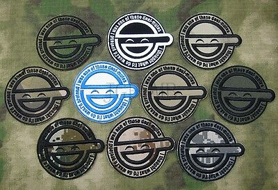 GHOST IN SHELL-STAND ALONE COMPLEX The Laughing Man Embroidery Patch