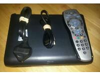 Digital sky hd multi room box complete with remote control and hdmi cable