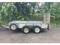 Ifor williams gd105 trailer ramp Sides flatbed mower mini digger car plant Ivor Bateson tractor van