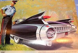 Artist Cliff Kearns Drawings Classic Auto Moments GM Automobiles Oakville / Halton Region Toronto (GTA) image 1