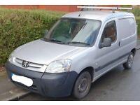 Peugeot, PARTNER, Car Derived Van, 2009, Manual, 1560 (cc)