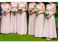 5x bridesmaids dresses for sale (maxi dress style)