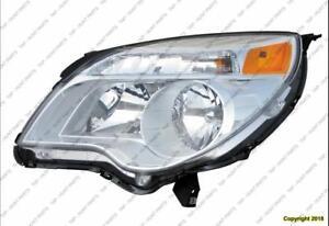 Head Lamp Driver Side Lt Ls Models High Quality Chevrolet Equinox 2010-2015