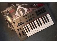BoxeNektar Impact LX25 midi keyboard and Controller £60