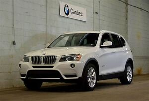 2014 BMW X3 xDrive28i | PREMIUM PACKAGE | LOW MILEAGE !!