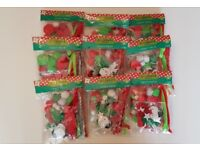 Tesco Childs Christmas Craft Pack (53 pieces) x 9 Packs