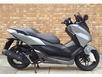 Honda Forza 125cc (65 REG), Immaculate condition with only 460 miles