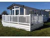 Holiday Home For Sale in Cornwall, Breathtaking Views, 40ft x 13ft 2 Bedrooms, Sited With Decking