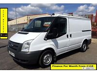 Ford Transit Van 2.2 300 -1 Owner EX B. Gas, 52K Miles, FSH 7 Stamps ,1YR MOT,Warranty,ELEC WINDOWS