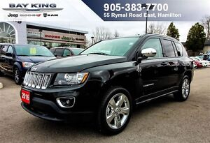 2016 Jeep Compass HIGH ALTITUDE, SUNROOF, BACKUP CAM, BLUETOOTH
