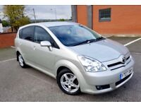 TOYOTA COROLLA VERSO 2.2 D4D DIESEL FULL SERVICE HISTORY 2 KEYS 7 SEATER EXCELLENT CONDITION £2790