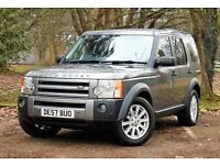 LANDROVER DISCOVERY 3 2.7 TDV6 SE: WARRANTY UNTIL JANUARY 2019