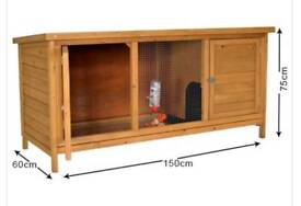 Hutch for a rabbit or 3 guinea pigs