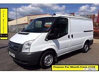 Ford Transit Van 2.2 300 -1 Owner EX B. Gas, 52K Miles, FSH 7 Stamps ,1YR MOT,Warranty,ELEC WINDOWS