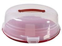 Curver - Round Cake Box Polypropylene, Red