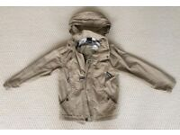 BENCH boys hooded coat size 5-6 years