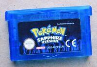 Pokemon Versione Zaffiro Italiano Solo Cartuccia Gioco Nuovo Made In China - pokemon - ebay.it