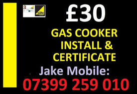 Registered Engineer Plumber - Cooker fitter installation connect fit gas corgi electric corgi
