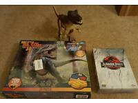 Dinosaur items! 3d jigsaw, T-Rex and Jurassic Park Trilogy dvd's