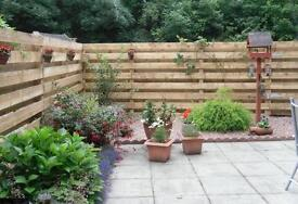 HIGH WINDS! FENCE REPAIRS by HARMONY LANDSCAPING & DESIGN