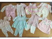 Tiny baby girls bundle