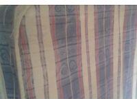 Clean double mattress