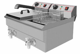 Modena T11 Double Electric Fryer Brand New Never Been Used
