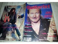 Vintage Guitarist magazine Featuring James Burton January 1992