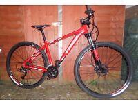 "2015 Trek Marlin 18.5"" Hardtail 29er Mountain Bike. 27 speed. VGC"
