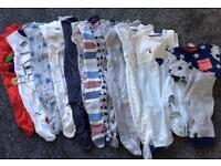 3-6 month boy clothing bundle