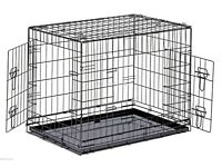 "42"" Dog Cage Puppy Crate XLarge Pet Carrier Training Cage new"