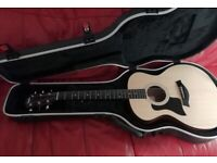left handed Taylor 114e with extras