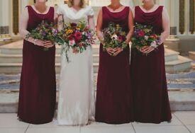 Three Beautiful Bridesmaid Dresses For Sale - £100 Each