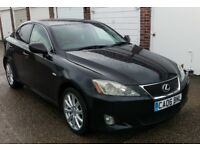 T-Z CARS PRESENT A 2006 Lexus IS 220d 2.2 TD SE-L MANUAL SALOON PX TO SELL