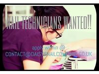 NAIL TECHNICIANS WANTED!
